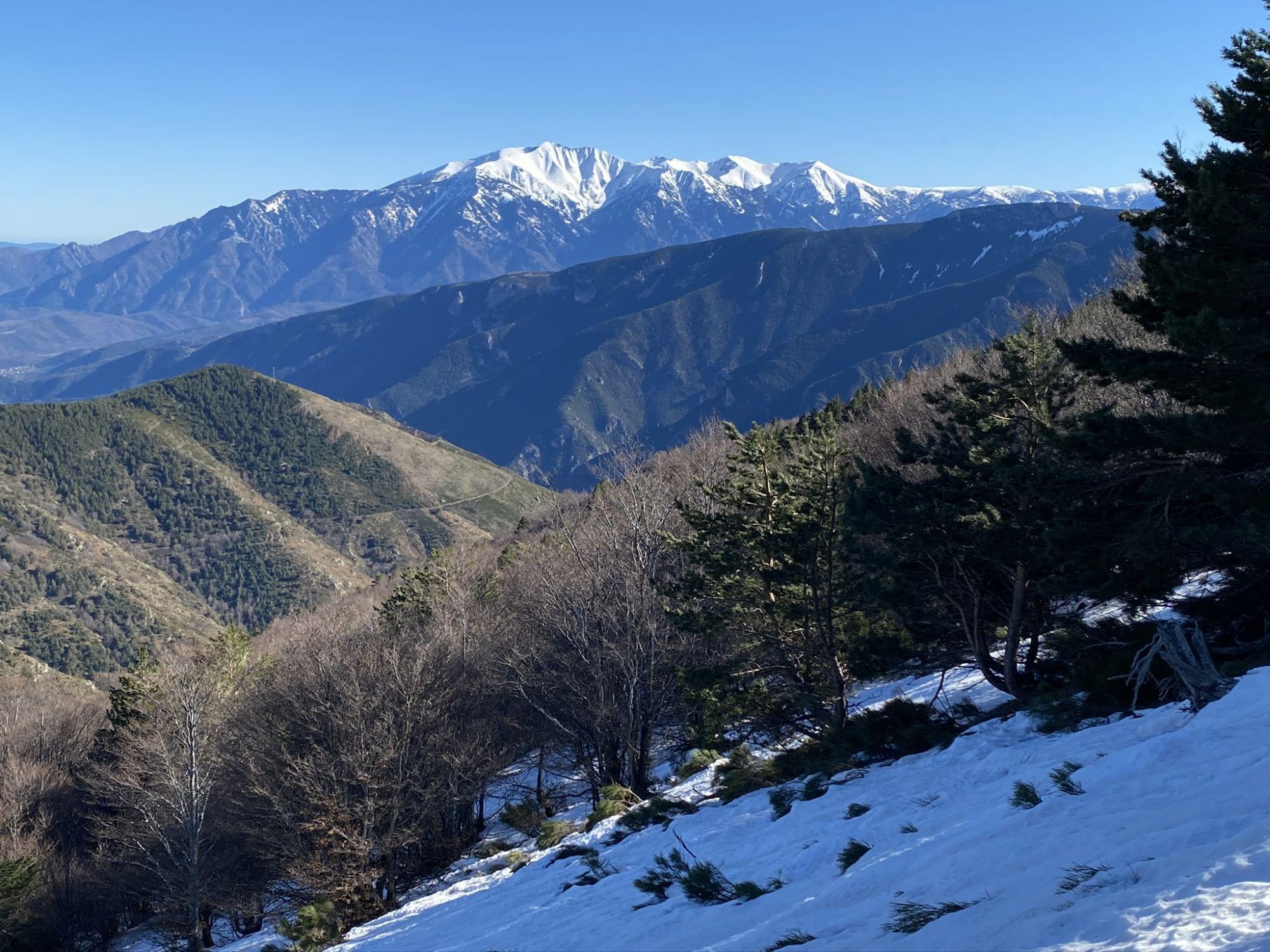 Neige Pyrénées-Orientale