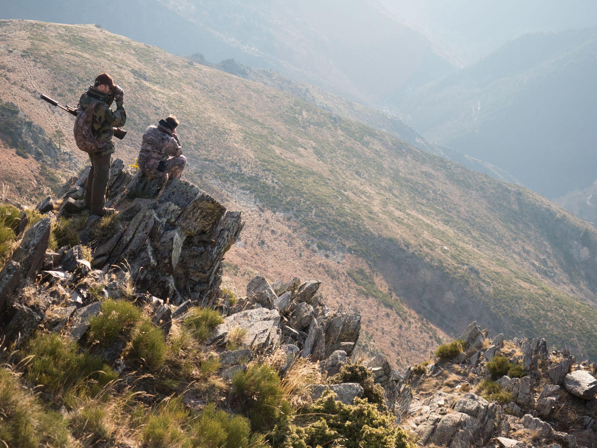 Chasse en Montagne
